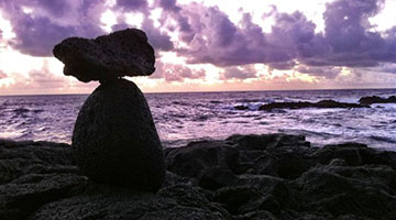 Cairn at Sunrise